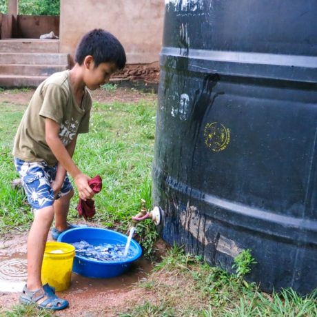 Water tanks for Bolivia