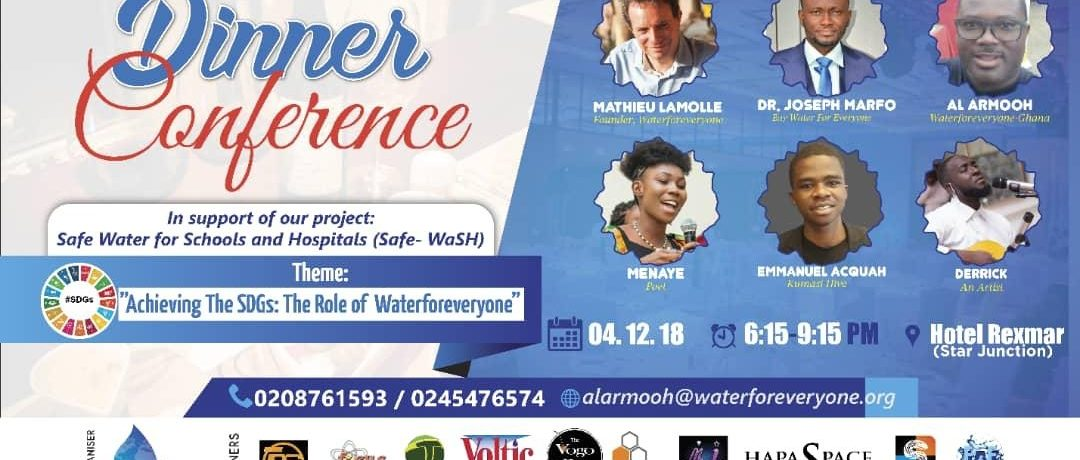 Waterforeveryone Ghana Dinner and Conference